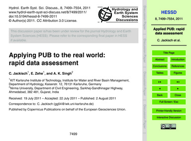 Applying Pub to the Real World: Rapid Da... by Jackisch, C.