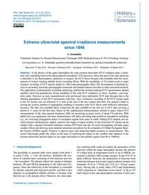 Extreme Ultraviolet Spectral Irradiance ... by Schmidtke, G.