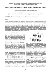 Bundle Adjustment for Multi-camera Syste... by Schneider, J.