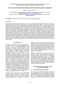 An Evaluative Review of Simulated Dynami... by Romeijn, H.