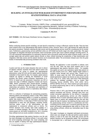 Building an Integrated Web-based Environ... by She, B.
