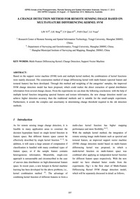 A Change Detection Method for Remote Sen... by Lin, Y.