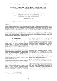 Change Detection in Land-use and Land-co... by Setiawan, Y.