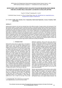 Detection and Compensation of Band-to-ba... by Zhu, Y.