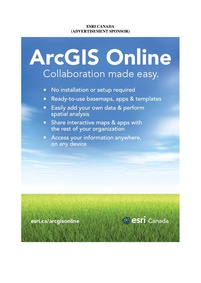 Esri Canada : Volume Ii-2, Issue 1 (11/1... by