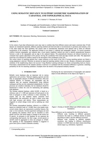 Using Semantic Distance to Support Geome... by Schulze, M.J.