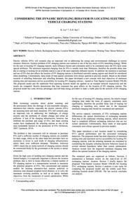 Considering the Dynamic Refueling Behavi... by Liu, K.