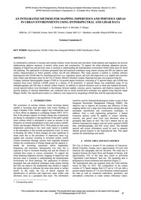 An Integrated Method for Mapping Impervi... by Hashemi Beni, L.