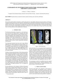 Comparison of 3D Interest Point Detector... by Hänsch, R.