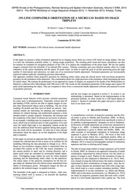 On-line Compatible Orientation of a Micr... by Reich, M.