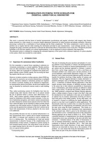 Information Filtering with Submaps for I... by Kleinert, M.