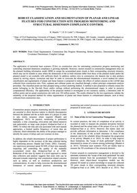 Robust Classification and Segmentation o... by Maalek, R.
