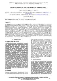 Geospatial Data Quality of the Servir Co... by Santos, J.