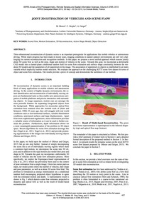Joint 3D Estimation of Vehicles and Scen... by Menze, M.