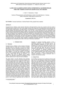 Land Use Classification Using Conditiona... by Albert, L.