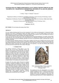Integration of Three Dimensional Data fr... by Herbig, U.