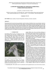 Landslide Monitoring by Fixed-base Terre... by Roncella, R.