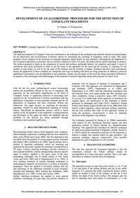 Development of an Algorithmic Procedure ... by Filippas, D.
