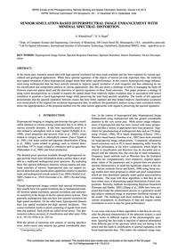 Sensor Simulation Based Hyperspectral Im... by Khandelwal, A.