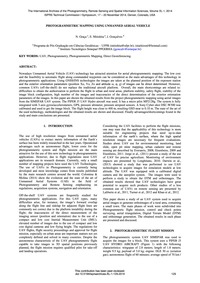 Photogrammetric Mapping Using Unmanned A... by Graça, N.
