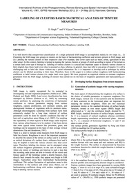 Labeling of Clusters Based on Critical A... by Singh, D.