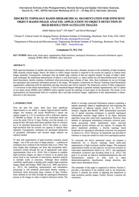 Discrete Topology Based Hierarchical Seg... by Syed, A. H.