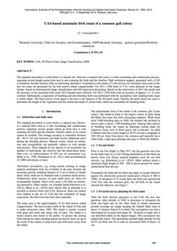 Uas-based Automatic Bird Count of a Comm... by Grenzdörffer, G. J.