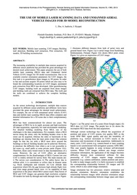 The Use of Mobile Laser Scanning Data an... by Zhu, L.