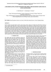 A Decision Level Fusion Method for Objec... by Tabib Mahmoudi, F.