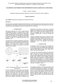 Examining Map Projection Distortions Usi... by Gupta, S.