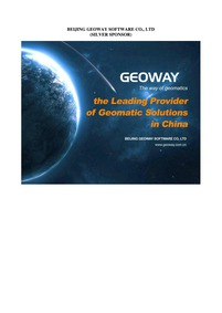 Beijing Geoway Software Co., Ltd. : Volu... by