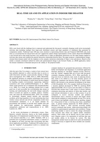 Real-time Gis and Its Application in Ind... by Xu, W.
