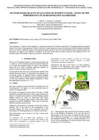 Feature-based Quality Evaluation of 3D P... by Ridene, T.