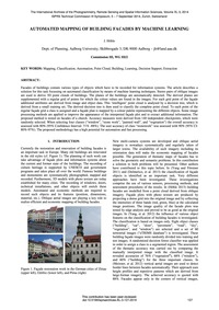 Automated Mapping of Building Facades by... by Höhle, J.