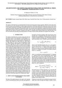 Segmentation and Crown Parameter Extract... by Shahzad, M.