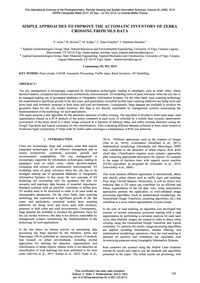 Simple Approaches to Improve the Automat... by Arias, P.