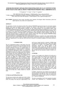 Semi-blind Source Separation for Estimat... by Ouerghemmi, W.