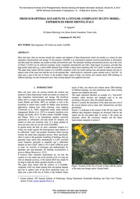 From Sub-optimal Datasets to a Citygml-c... by Agugiaro, G.