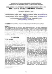 Exploiting Volunteered Geographic Inform... by Jokar Arsanjani, J.