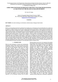 Using Web Crawler Technology for Text An... by Hu, H.