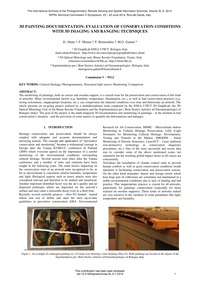 3D Painting Documentation: Evaluation of... by Abate, D.