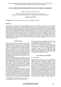 Evaluation of Dem Generation Accuracy fr... by Santise, M.