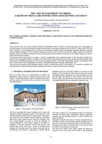 The Art of War Frieze in Urbino: a Blend... by Baratin, L.