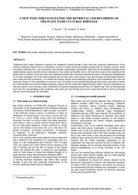A New Tool for Facilitating the Retrieva... by Bozzini, C.