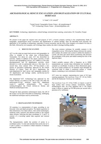 Archaeological Rescue Excavation and Dig... by Varea, S.