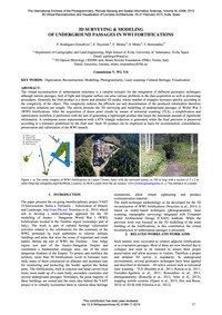 3D Surveying & Modeling of Underground P... by Rodríguez-gonzálvez, P.