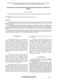 Develop Direct Geo-referencing System Ba... by Liu, H. S.