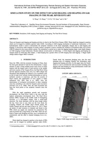 Simulation Study on the Effect of Sand D... by Wang, X.