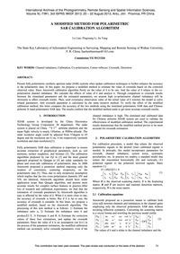 A Modified Method for Polarimetric Sar C... by Liao, L.