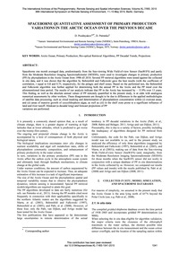 Spaceborne Quantitative Assessment of Pr... by Pozdnyakov, D.